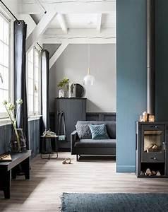 les 25 meilleures idees de la categorie murs bleu fonce With beautiful couleur pour mur salon 3 osez une deco couleur bleu canard dans votre interieur