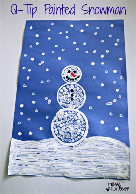 15 easy winter snowman crafts for socal field trips 476 | Easy Snowman Craft for Preschool Class