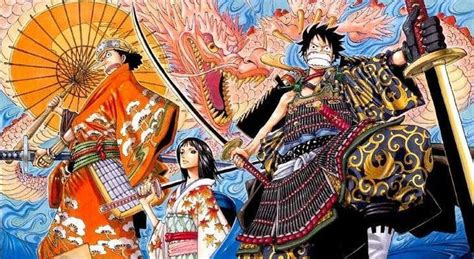 piece chapter  samurai official spoilers released