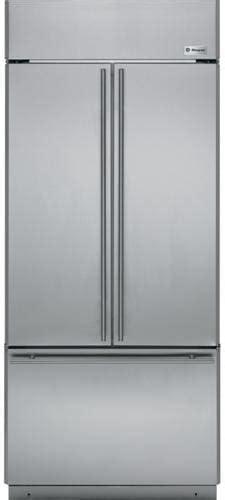 monogram zipsnhss   built  french door refrigerator  ice maker led lighting