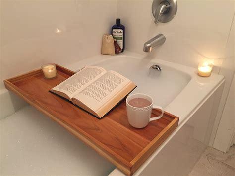 bathroom outstanding teak bathtub caddy  modern