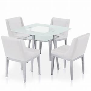 Plaque De Verre Pour Table : chaises pour table en verre meilleures images d ~ Dailycaller-alerts.com Idées de Décoration