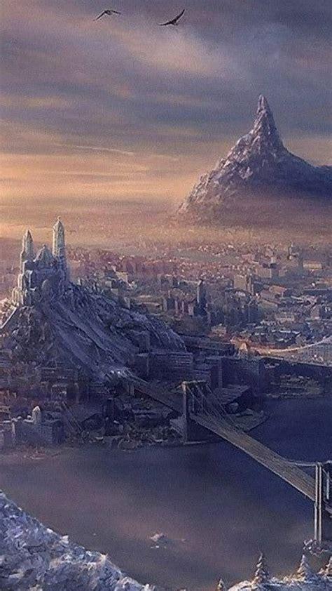 fantasy landscape wallpapersc smartphone