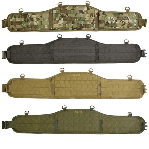 viper tactical molle elite waist belt padded army