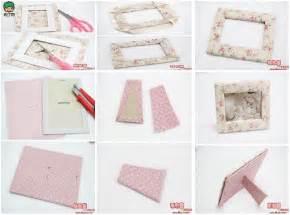 diy weihnachtsdeko basteln diy fabric picture frame fabdiy