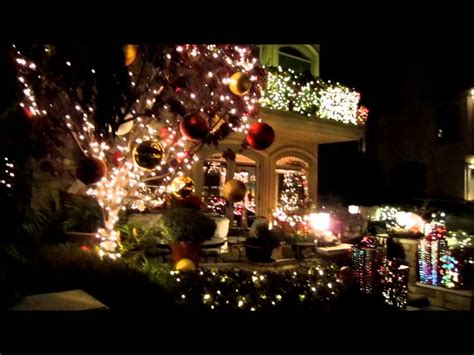 christmas lights in naples california 2012 youtube