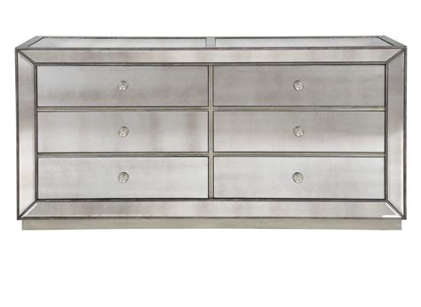 Z Gallerie Concerto Dresser by Omni Mirrored 6 Drawer Chest Chests From Z Gallerie Home