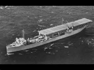 uss langley america s aircraft carrier bombed and sunk