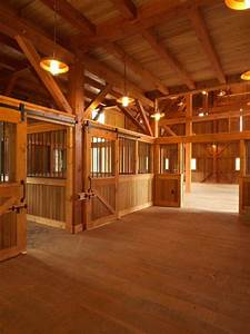 123 best horse barns stables images on pinterest With best wood for horse stalls