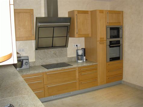 cuisine hetre cuisine hêtre porte à cadre