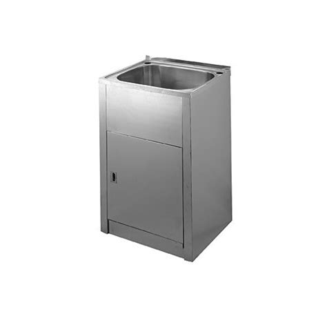 cm laundry tub  stainless steel cabinet compact