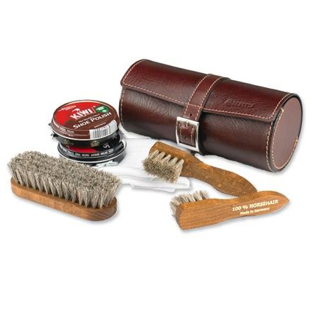 How To Clean Cowhide Leather by Cowhide Leather Shoeshine Kit