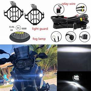 Motorcycle Led Fog Light Safety Driving Lamp Bike