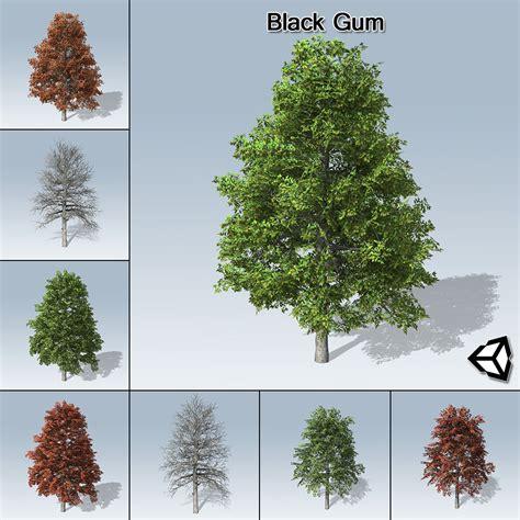 black gum tree black gum unity speedtree