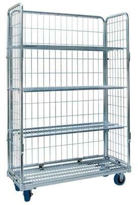 roll cart warehouse rack  shelf