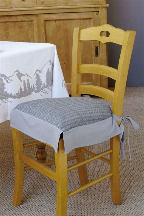 faire des galettes de chaises galette de chaise tricot tricot et crochet et décoration