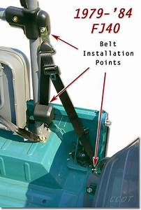 3 Point Seat Belt Installation Instructions