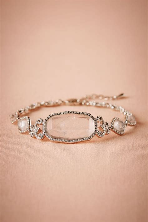 lucine bracelet  bride bridal jewelry  bhldn vow