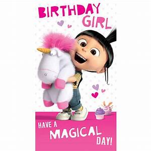 Despicable Me Happy Birthday Card   www.imgkid.com - The ...