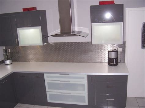 photo cuisine ikea cuisine grise et blanc ikea chaios com