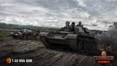 T55a Ddr Nva Tank 55 Wallpapers Wot