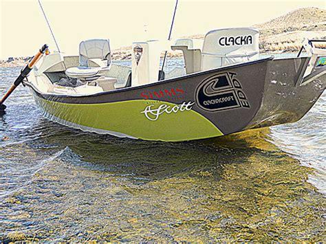 Clacka Boats clackacraft drift boat accessories