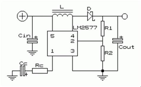 Voltage Converter Circuit Scheme