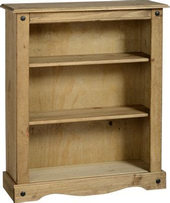 Mexican Bookcase by Buy Corona Mexican Low Bookcase Distressed Waxed Pine From