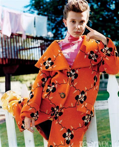 Millie Bobby Brown - Teen Vogue Magazine August 2017 ...