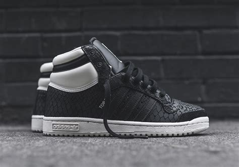 "Adidas Top Ten ""black Snakeskin"" Wmns Exclusive"