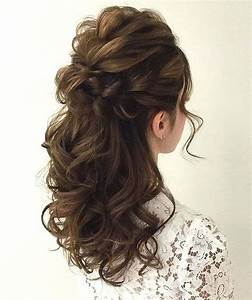 Hairstyles For Wedding Guest Half Up Down HairStyles