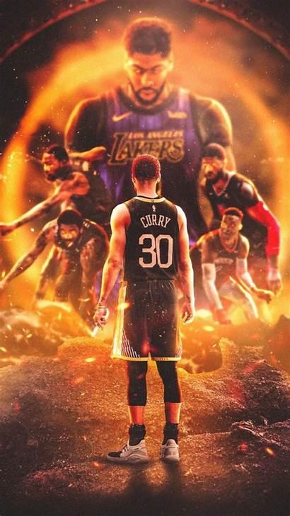Nba Wallpapers Curry Lebron Basketball Cartoon James