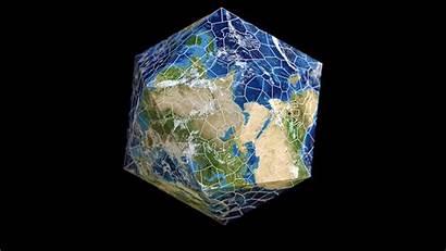 Puzzle Earth Shape System Nervous Edges Fixed