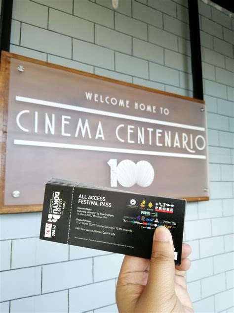 Cinema Centenario is Permanently Closing - Pinned.PH