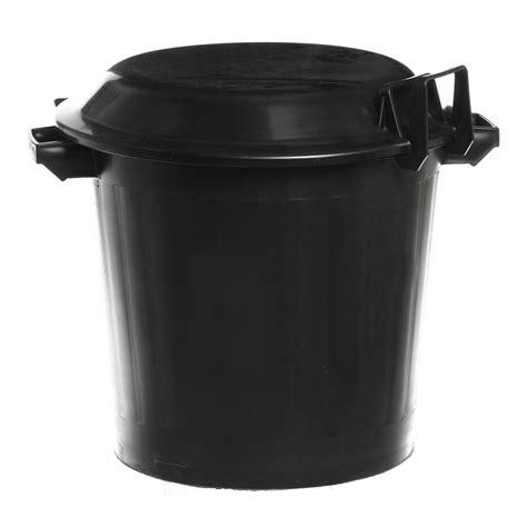 poubelle inox cuisine poubelle plastique avec couvercle 80 l mjpro restauration collective equipement