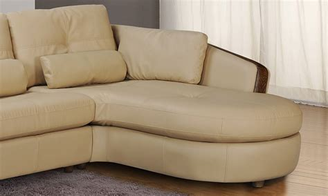 taupe bonded leather sectional sofa  ash wood accent baltimore maryland chont