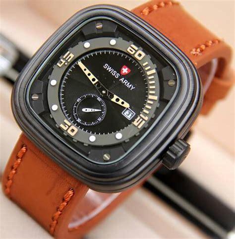 swatch tanggal kulit jual jam tangan swiss army p1 chrono detik tali kulit