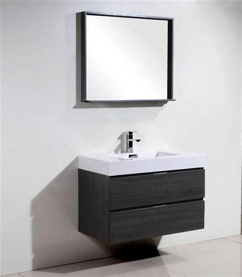 bathroom vanity clearance sale toronto bliss 36 quot gray oak wall mount modern bathroom vanity