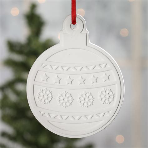 unfinished christmas ball ornament kids craft kits