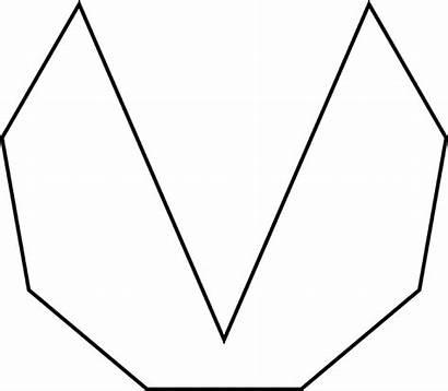 Nonagon Irregular Concave Sides Clipart Etc Convcave