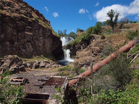 white river falls state park oregon pacific northwest