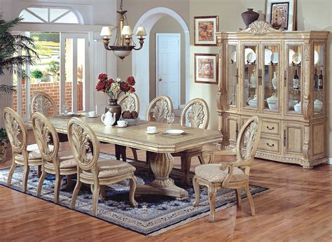 Awesome French Country Dining Set 11 French Antique White