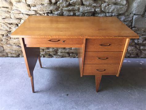 bureau brocante bureau vintage couleur brocante