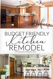 kitchen remodel on a bud 1595