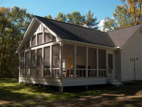 Screened In Porch Cost Calculator by Screen Porch Eclectic Porch Boston By Mahoney