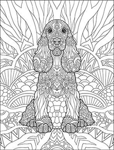 doodle dogs coloring book for adults by amanda neel
