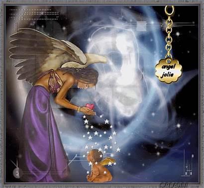 Angel Angels Jolie Fanpop Wings Animated Roses