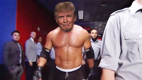 trump wwe donald cnn epic smackdown returns another ago serve raw weeks two lay
