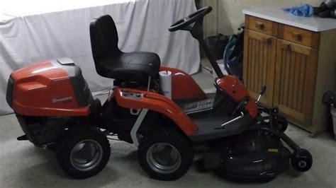 husqvarna rider 111b tracteur tondeuse