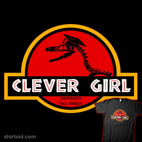 Jurassic Park Logo Wallpaper Clever Girl Shirtoid